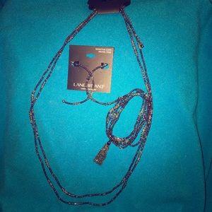 Beaded- Necklace- Earrings-Bracelet Set